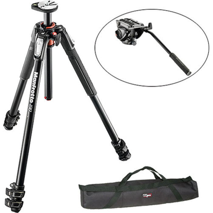 NEW Manfrotto 190DB Tripod!