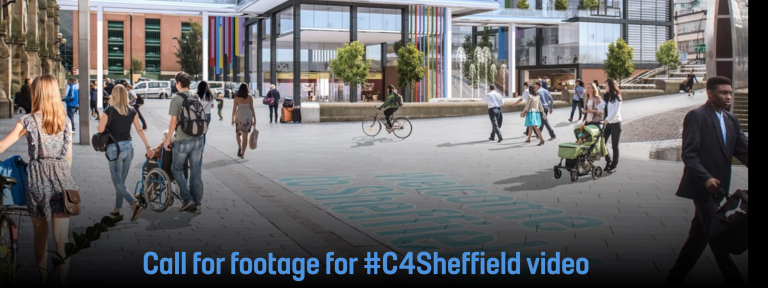 Call for footage for #C4Sheffield video